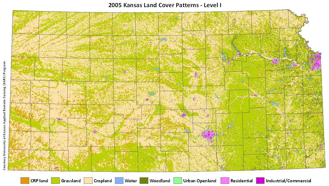 Kansas Land Cover 2005.