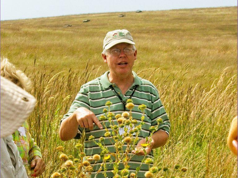 Jeff Hanson wildflower guide; photo Matthew Richter