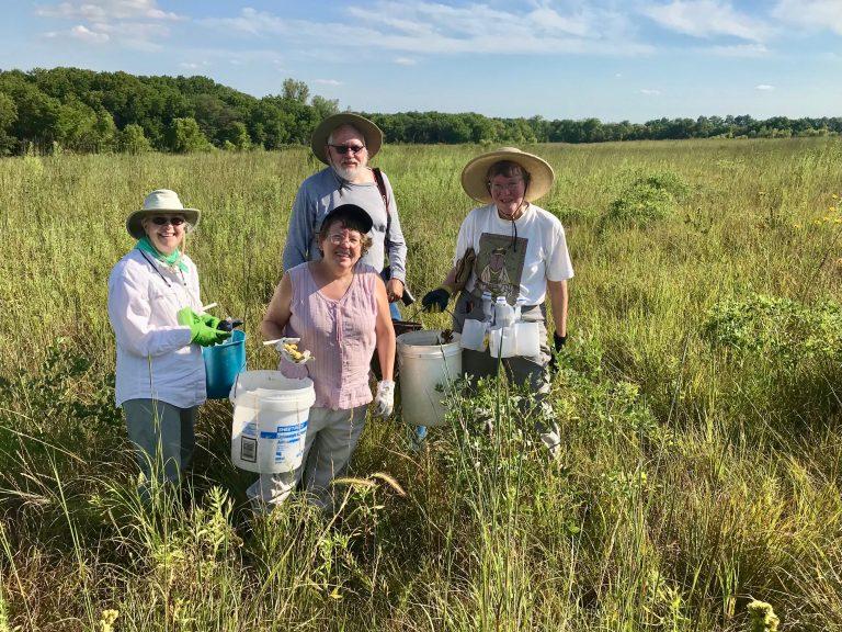 Prairie Seed Harvesters