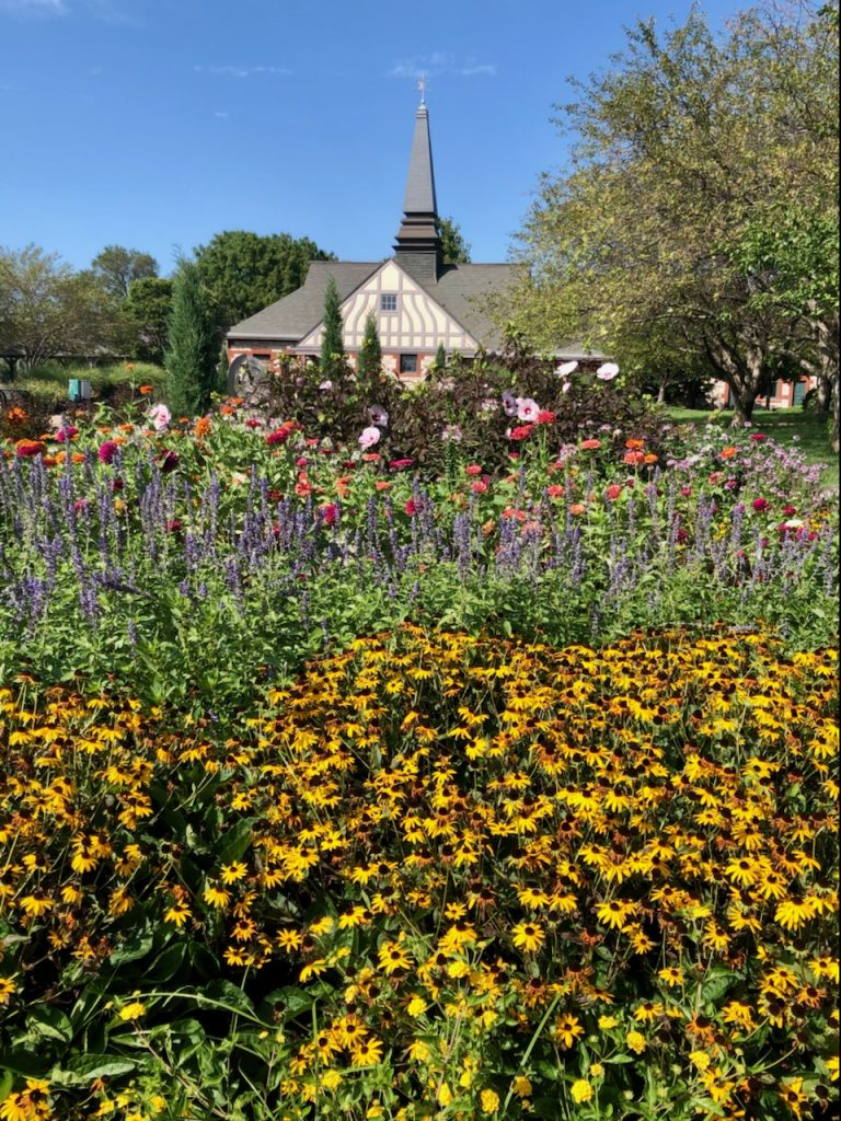 Union Depot Garden in North Lawrence
